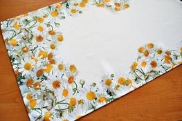 40x140 cm bieżnik drukowany RUMIANKI (614B-10)